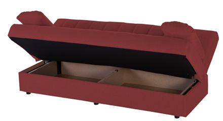 Divano letto con materasso a molle qualit e convenienza - Divano letto con contenitore ...
